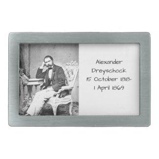 Alexander Dreyschock Belt Buckle