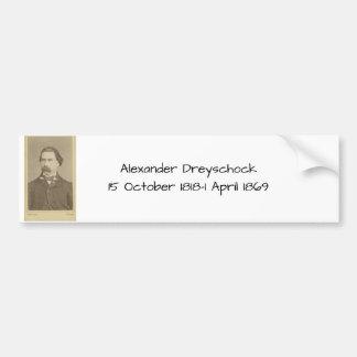 Alexander Dreyschock Bumper Sticker