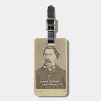 Alexander Dreyschock Luggage Tag