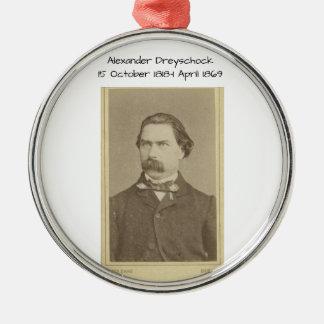 Alexander Dreyschock Metal Ornament