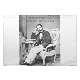 Alexander Dreyschock Placemat