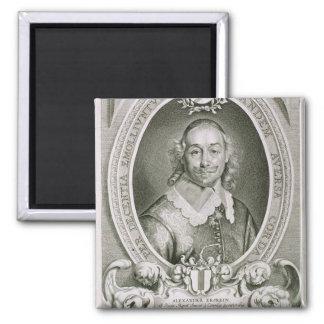 Alexander Erskein (d.1656) from 'Portraits des Hom Square Magnet