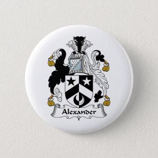 Alexander Family Crest 2 Inch Round Button