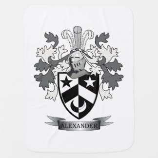 Alexander Family Crest Coat of Arms Baby Blanket