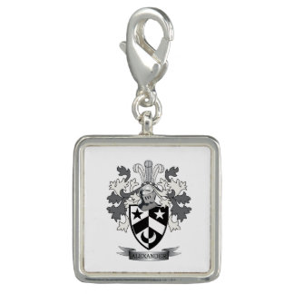 Alexander Family Crest Coat of Arms Charms