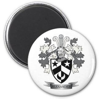 Alexander Family Crest Coat of Arms Magnet
