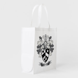 Alexander Family Crest Coat of Arms Reusable Grocery Bag