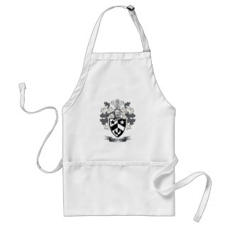 Alexander Family Crest Coat of Arms Standard Apron