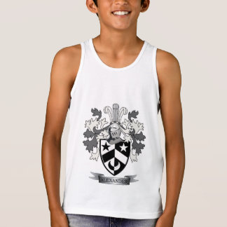 Alexander Family Crest Coat of Arms Tank Top