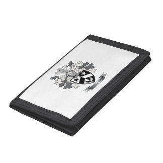 Alexander Family Crest Coat of Arms Trifold Wallet
