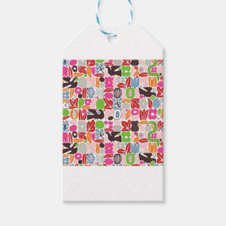 alexander-girard-eden-gift-wrapping-paper pack of gift tags