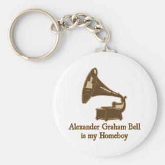 Alexander Graham Bell est mon Homeboy Porte-clés
