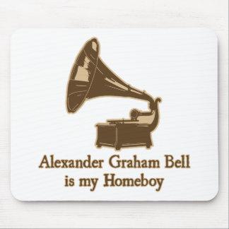 Alexander Graham Bell est mon Homeboy Tapis De Souris