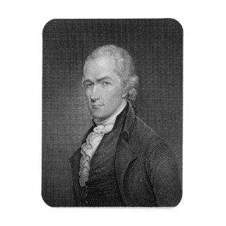 Alexander Hamilton (1757-1804) engraved by John Fr Rectangular Photo Magnet