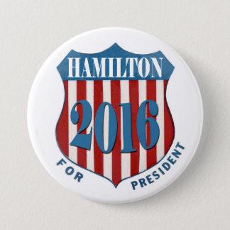 Alexander Hamilton 2016 3 Inch Round Button