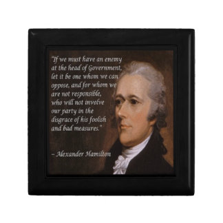 "Alexander Hamilton ""Enemy Leader"" Gift Gift Box"