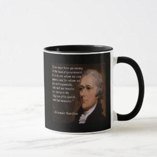 "Alexander Hamilton ""Enemy Leader"" Gift Mug"