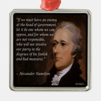 "Alexander Hamilton ""Enemy Leader"" Ornaments"