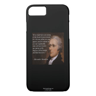 "Alexander Hamilton ""Enemy Leader"" Smartphone Cases"