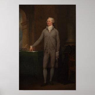 Alexander Hamilton Full-Length Portrait Poster
