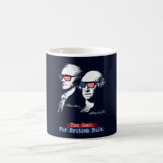 Alexander Hamilton, George Washington - Too cool Coffee Mug