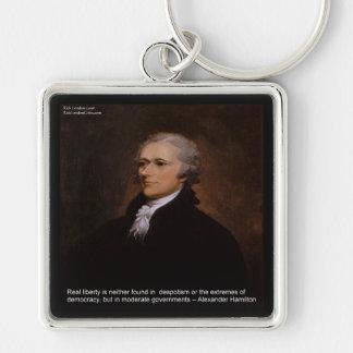 Alexander Hamilton Gifts Keychain