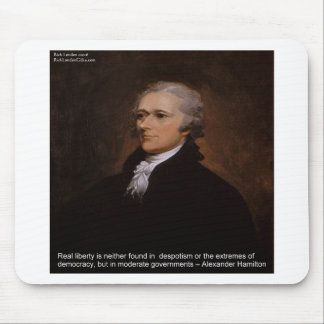 Alexander Hamilton Gifts Mouse Pad