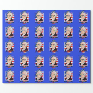 Alexander Hamilton in Color Wearing  Shades Wrapping Paper