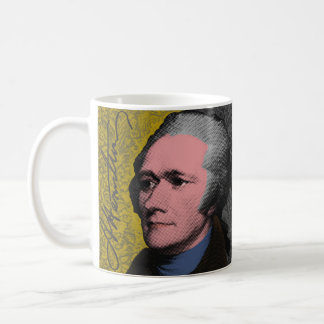 Alexander Hamilton Pop Art Portrait Coffee Mug