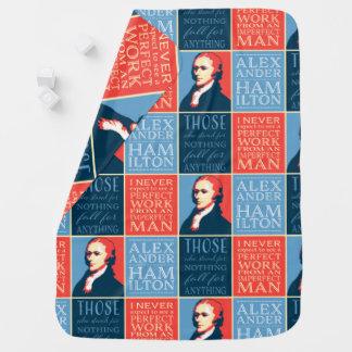 Alexander Hamilton Quotations Baby Blanket
