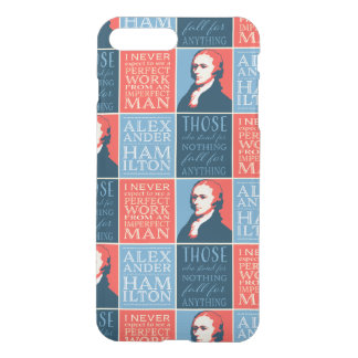 Alexander Hamilton Quotations iPhone 8 Plus/7 Plus Case