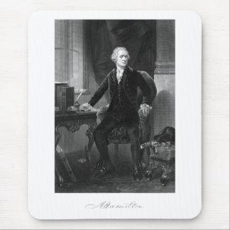 Alexander Hamilton Sitting At His Desk Mouse Pad