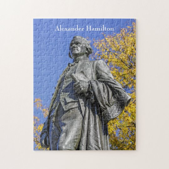 Alexander Hamilton Statue Jigsaw Puzzle