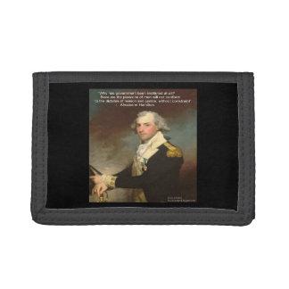 "Alexander Hamilton ""Why Government"" Nylon Wallet"