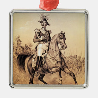 Alexander II  Czar of Russia Metal Ornament