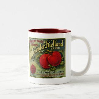 Alexander Keilland Apples Two-Tone Coffee Mug