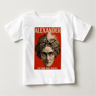 Alexander Knows Baby T-Shirt