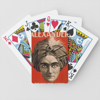 Alexander Knows Bicycle Playing Cards