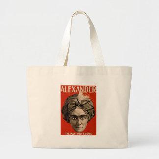 Alexander Knows Large Tote Bag