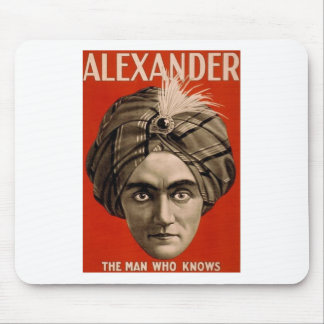 Alexander Knows Mouse Pad