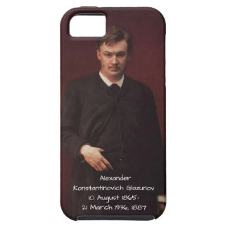 Alexander Konstamtinovich Glazunov 1887 iPhone 5 Cover