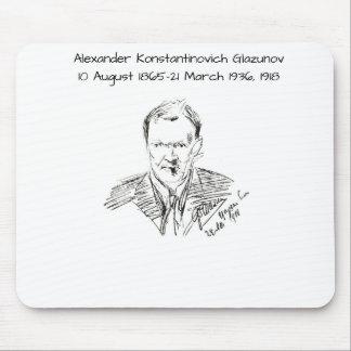 Alexander Konstamtinovich Glazunov 1918 Mouse Pad