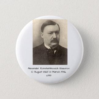 Alexander Konstamtinovich Glazunov c1913 2 Inch Round Button