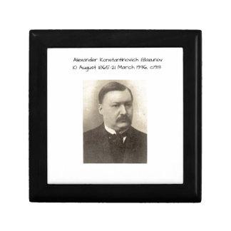 Alexander Konstamtinovich Glazunov c1913 Gift Box