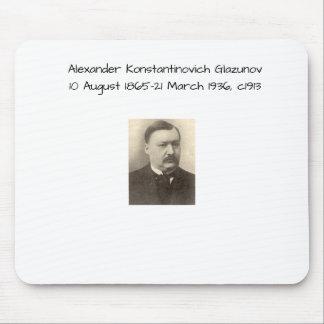 Alexander Konstamtinovich Glazunov c1913 Mouse Pad