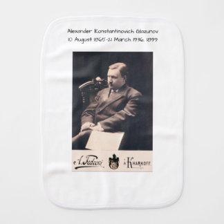 Alexander Konstantinovich Glazunov 1899 Burp Cloth