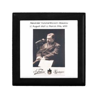 Alexander Konstantinovich Glazunov 1899 Gift Box