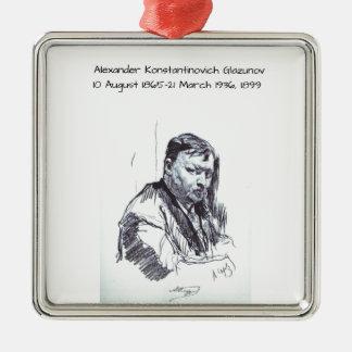Alexander Konstantinovich Glazunov 1899 Metal Ornament