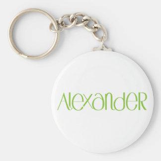 Alexander lime Keychain