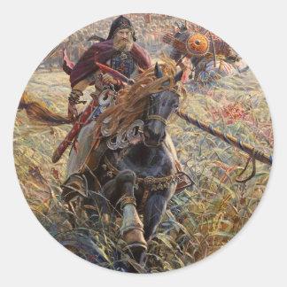 Alexander Peresvet Round Sticker